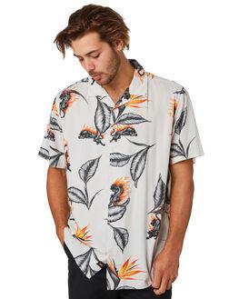PUMICE MENS CLOTHING GLOBE SHIRTS - GB01924001PUM