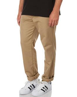 LEATHER MENS CLOTHING CARHARTT PANTS - I020074-8Y-02LEA