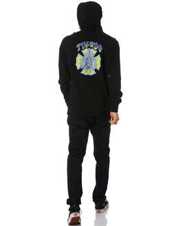 BLACK MENS CLOTHING HURLEY JUMPERS - BV1662010