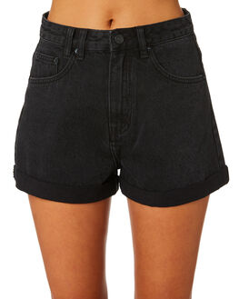 DUST BLACK WOMENS CLOTHING INSIGHT SHORTS - 5000002701DSBLK