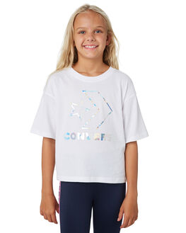 WHITE KIDS GIRLS CONVERSE TOPS - R468987001