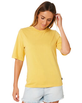 YELLOW WOMENS CLOTHING SILENT THEORY TEES - 6023034YLW