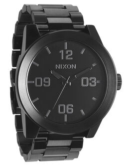 ALL BLACK MENS ACCESSORIES NIXON WATCHES - A346001ABLK