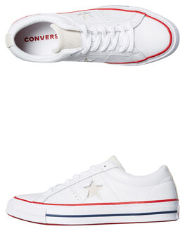 WHITE MENS FOOTWEAR CONVERSE SNEAKERS - SS160624WHTM