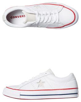 WHITE WOMENS FOOTWEAR CONVERSE SNEAKERS - SS160624WHTW