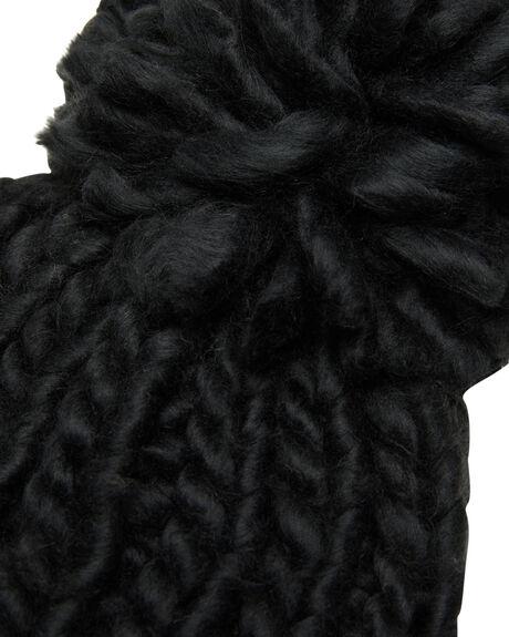 BLACK WOMENS ACCESSORIES RIP CURL HEADWEAR - GBNDA10090