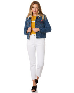 WORN INDIGO WOMENS CLOTHING WRANGLER JACKETS - W-951421-AT9
