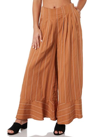 FRANCESCA STRIPE WOMENS CLOTHING SANCIA PANTS - 820ASTRP
