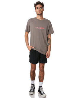 CHARCOAL MENS CLOTHING THE CRITICAL SLIDE SOCIETY TEES - TE18216CHAR