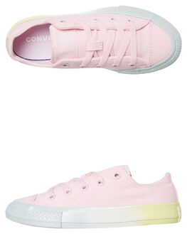 PINK KIDS GIRLS CONVERSE SNEAKERS - 666062CPINK