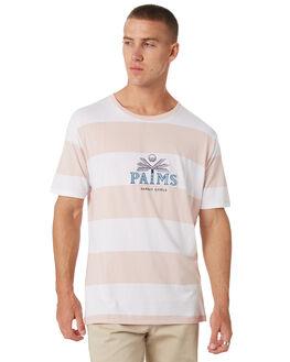 PINK STRIPE MENS CLOTHING BARNEY COOLS TEES - 130-CC1PNK