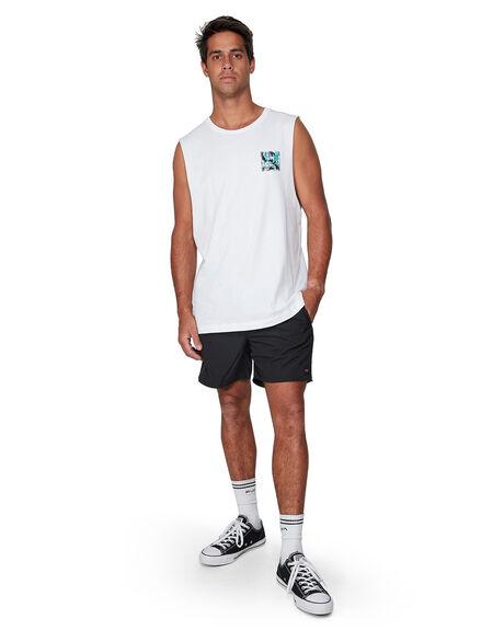 VINTAGE FLOR MENS CLOTHING RVCA SINGLETS - RV-R182010-VFL
