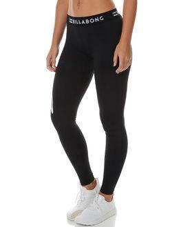 BLACK WOMENS CLOTHING BILLABONG ACTIVEWEAR - 6575951BLK