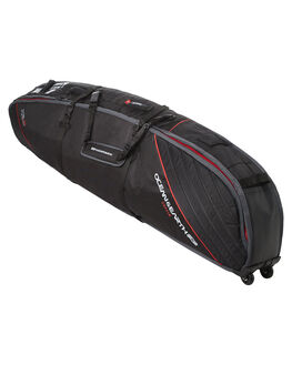 BLACK RED BOARDSPORTS SURF OCEAN AND EARTH BOARDCOVERS - SCSB08BLKRE