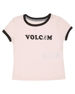 BLUSH PINK KIDS GIRLS VOLCOM TOPS - B35119L1BUP