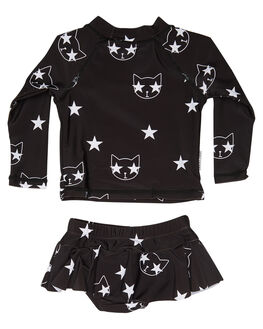 BLACK KIDS BABY TINY TRIBE CLOTHING - TTS17-11004SLBLK