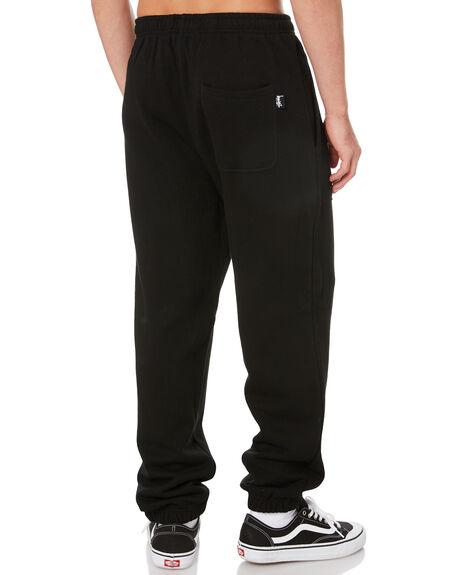 BLACK MENS CLOTHING STUSSY PANTS - ST006200BLK