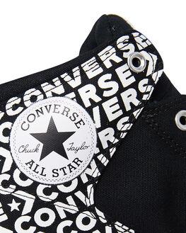 BLACK WOMENS FOOTWEAR CONVERSE SNEAKERS - SS163954BLKW