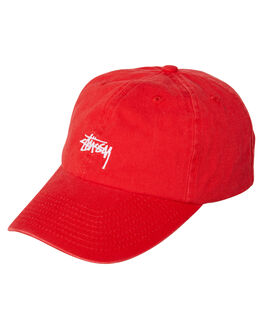 RISKY RED MENS ACCESSORIES STUSSY HEADWEAR - ST795000RRED