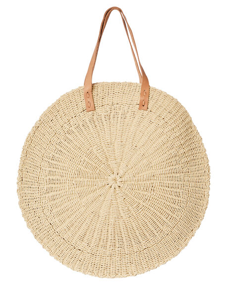 NATURAL WOMENS ACCESSORIES THE BEACH PEOPLE BAGS + BACKPACKS - BG-S01-04-ONAT