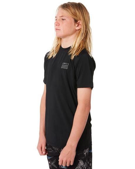 BLACK OUTLET BOARDSPORTS SWELL RASHVESTS - S3184050BLACK