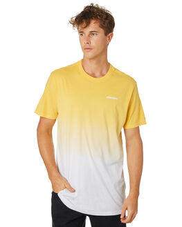 YELLOW MENS CLOTHING ELEMENT TEES - 184009YEL