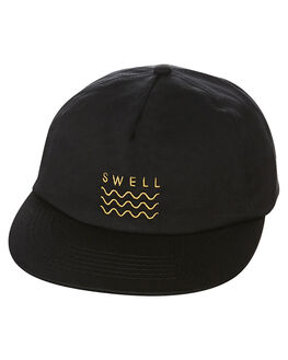 BLACK MENS ACCESSORIES SWELL HEADWEAR - S51641612BLK
