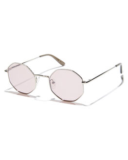 SILVER WOMENS ACCESSORIES SUNDAY SOMEWHERE SUNGLASSES - SUN183SIL
