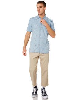 HANGLIDER INDIGO MENS CLOTHING BARNEY COOLS SHIRTS - 301-CR3HIND