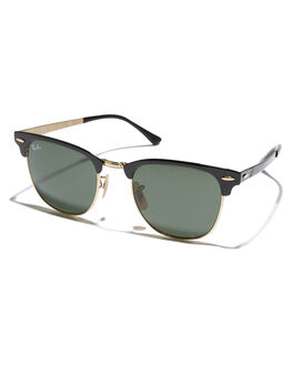 GOLD TOP ON BLACK MENS ACCESSORIES RAY-BAN SUNGLASSES - 0RB3716GLDBK