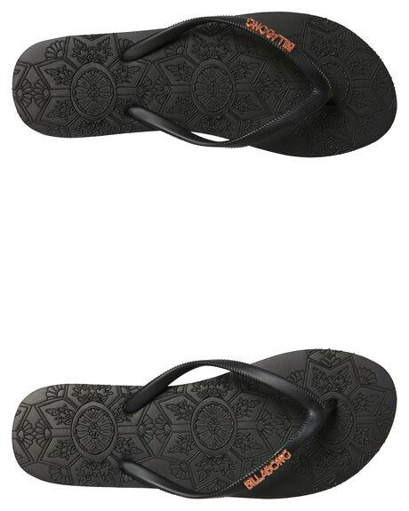 BLACK WOMENS FOOTWEAR BILLABONG THONGS - 6681803BLK