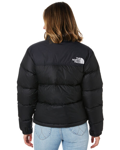 TNF BLACK WOMENS CLOTHING THE NORTH FACE JACKETS - NF0A3XEOJK3