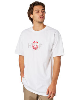 WHITE MENS CLOTHING HUF TEES - TS00738WHT
