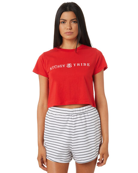 RISKY RED WOMENS CLOTHING STUSSY TEES - ST195020RISKY