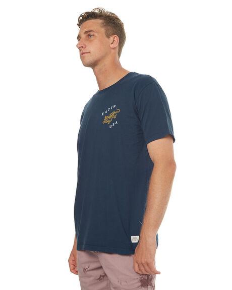 NAVY MENS CLOTHING KATIN TEES - TSJAGH17NVY