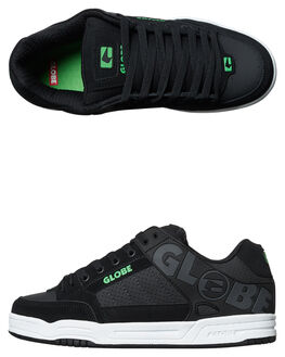 BLACK PHANTOM GREEN MENS FOOTWEAR GLOBE SKATE SHOES - GBTILT-20313