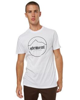 OPTIC WHITE MENS CLOTHING ELEMENT TEES - 174010OWHT