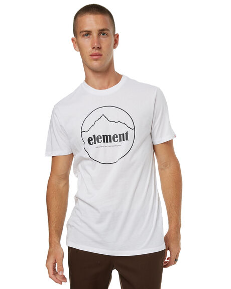 OPTIC WHITE MENS CLOTHING ELEMENT TEES - 174010OWHT