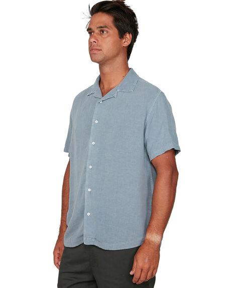 SLATE MENS CLOTHING RVCA SHIRTS - RV-R306184-SLA
