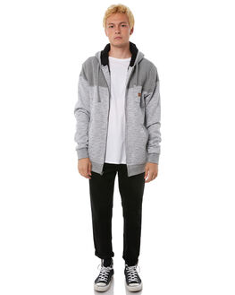 GREY HEATHER MENS CLOTHING BILLABONG JUMPERS - 9585632GHTR
