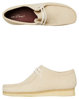 OFF WHITE MENS FOOTWEAR CLARKS ORIGINALS BOOTS - SSWALLABEE_OWHTM
