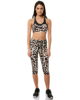 LEOPARD WOMENS CLOTHING THE UPSIDE ACTIVEWEAR - UPL1799LEO