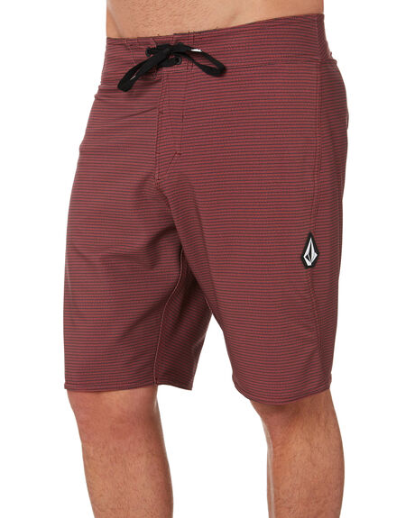 BORDEAUX BROWN MENS CLOTHING VOLCOM BOARDSHORTS - A0801900BXB