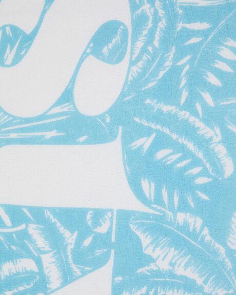 CRYSTAL BLUE WOMENS ACCESSORIES RUSTY TOWELS - TWL0175CYB