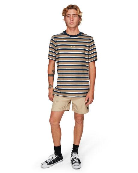 DUST YELLOW MENS CLOTHING RVCA TEES - RV-R192052-DYL