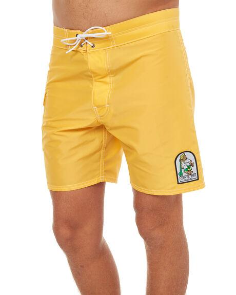 GOLD MENS CLOTHING KATIN BOARDSHORTS - TRSSWAT17GLD