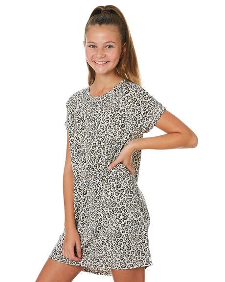 LEOPARD KIDS GIRLS SWELL DRESSES + PLAYSUITS - S6201441LEPRD