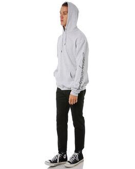 LIGHT GREY MENS CLOTHING STUSSY JUMPERS - ST085203LGMRL