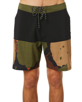 LEGION GREEN MENS CLOTHING HURLEY BOARDSHORTS - CI7802331