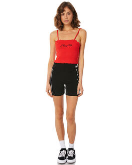 BLACK WOMENS CLOTHING STUSSY ACTIVEWEAR - ST182615BLK